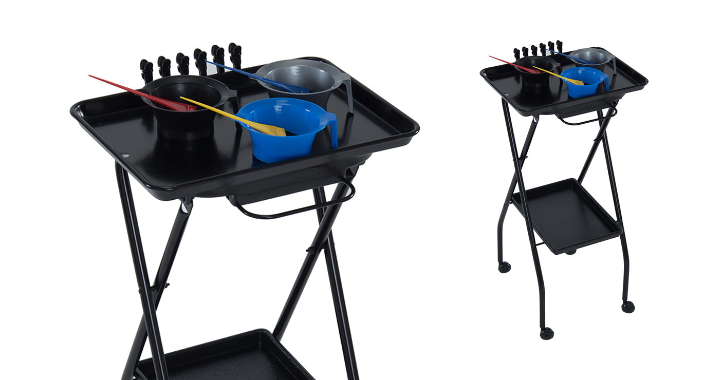 kayline ft59 a black aluminum salon color tray free shipping - Color Tray