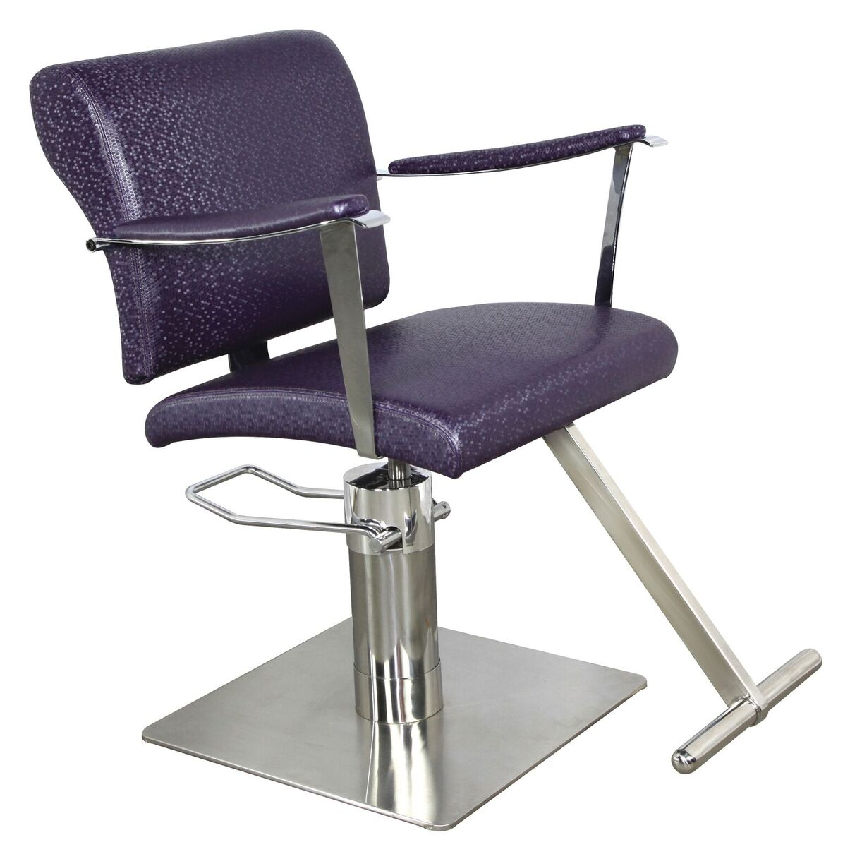 Eliza ez 60 one world inspired salon styling chair in 19 for Colored salon chairs
