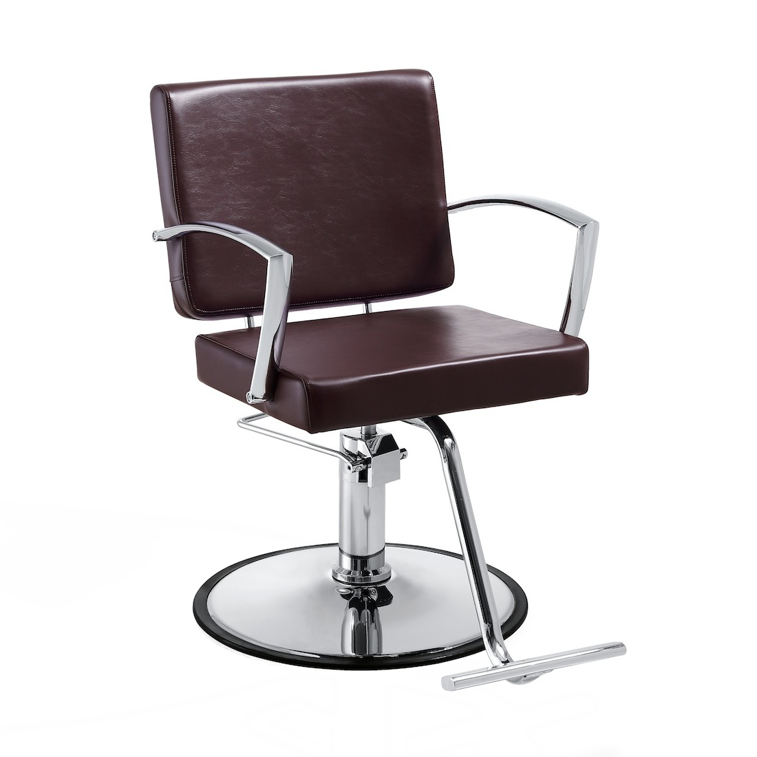 Duke Brown SC-DUK-010 Kaemark Salon Styling Chair + Free Shipping!  sc 1 st  ProHairTools.com & Duke SAV-617 Salon Styling Chair In Mocha or White + Free Shipping