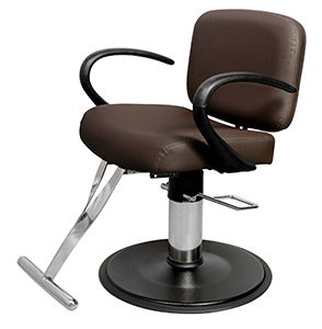 Ayla wvst 60 kaemark salon styling chair in 13 colors for Colored salon chairs