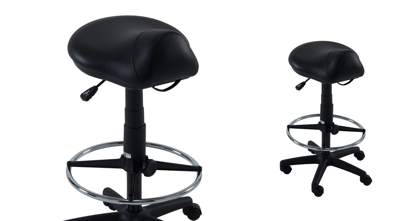 Professional 812v Salon And Barber Saddle Stool