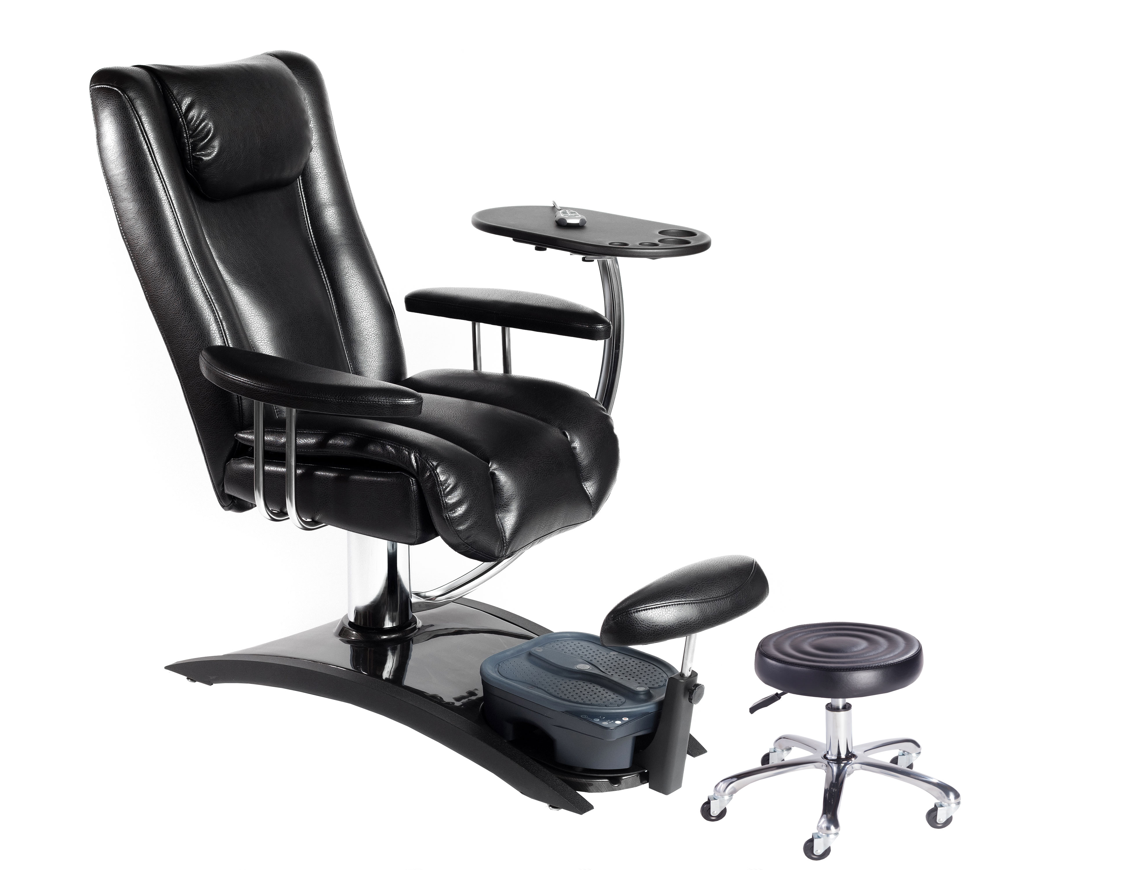 "No Plumbing"" Embrace Pedicure Chair FREE Tech Stool"