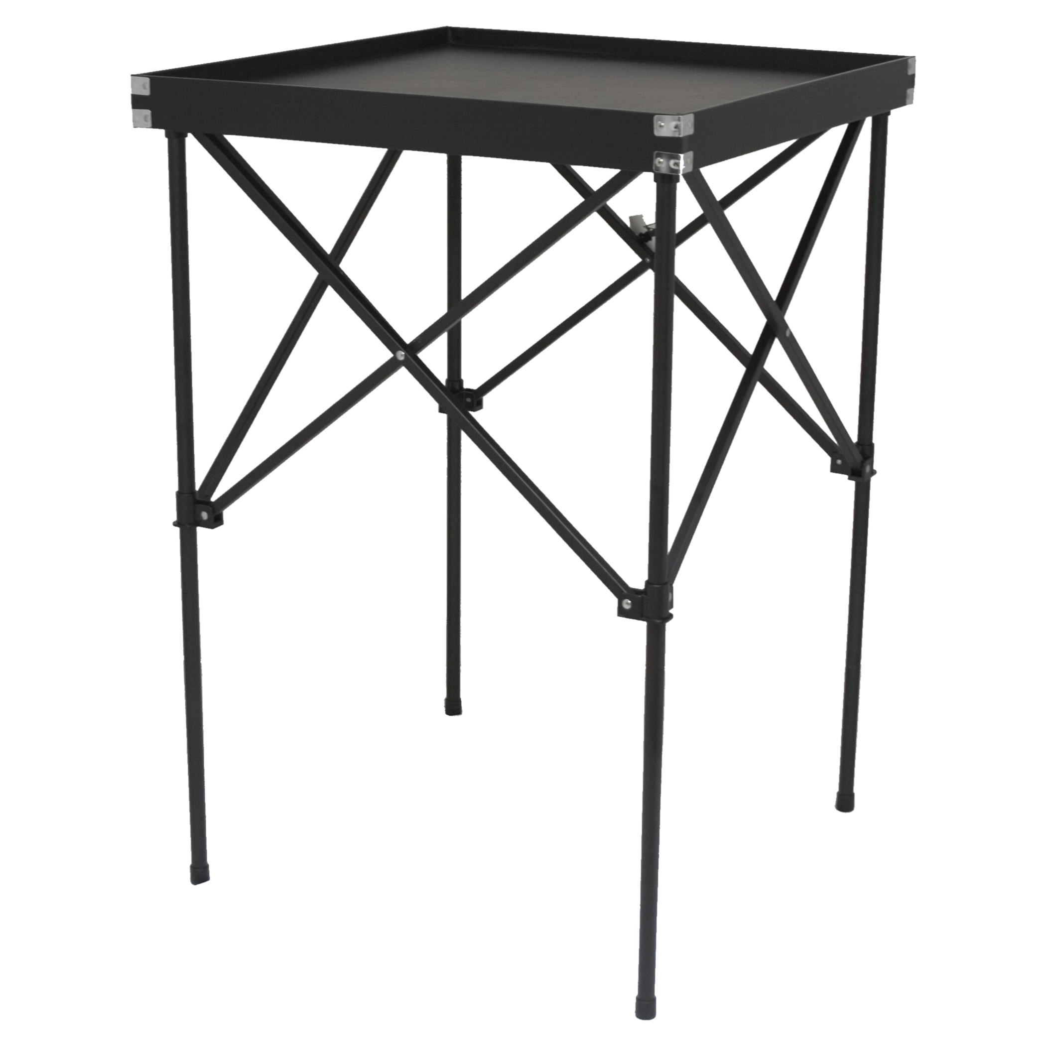 Hiker black portable makeup table stand free shipping for Table stand i 52 compose