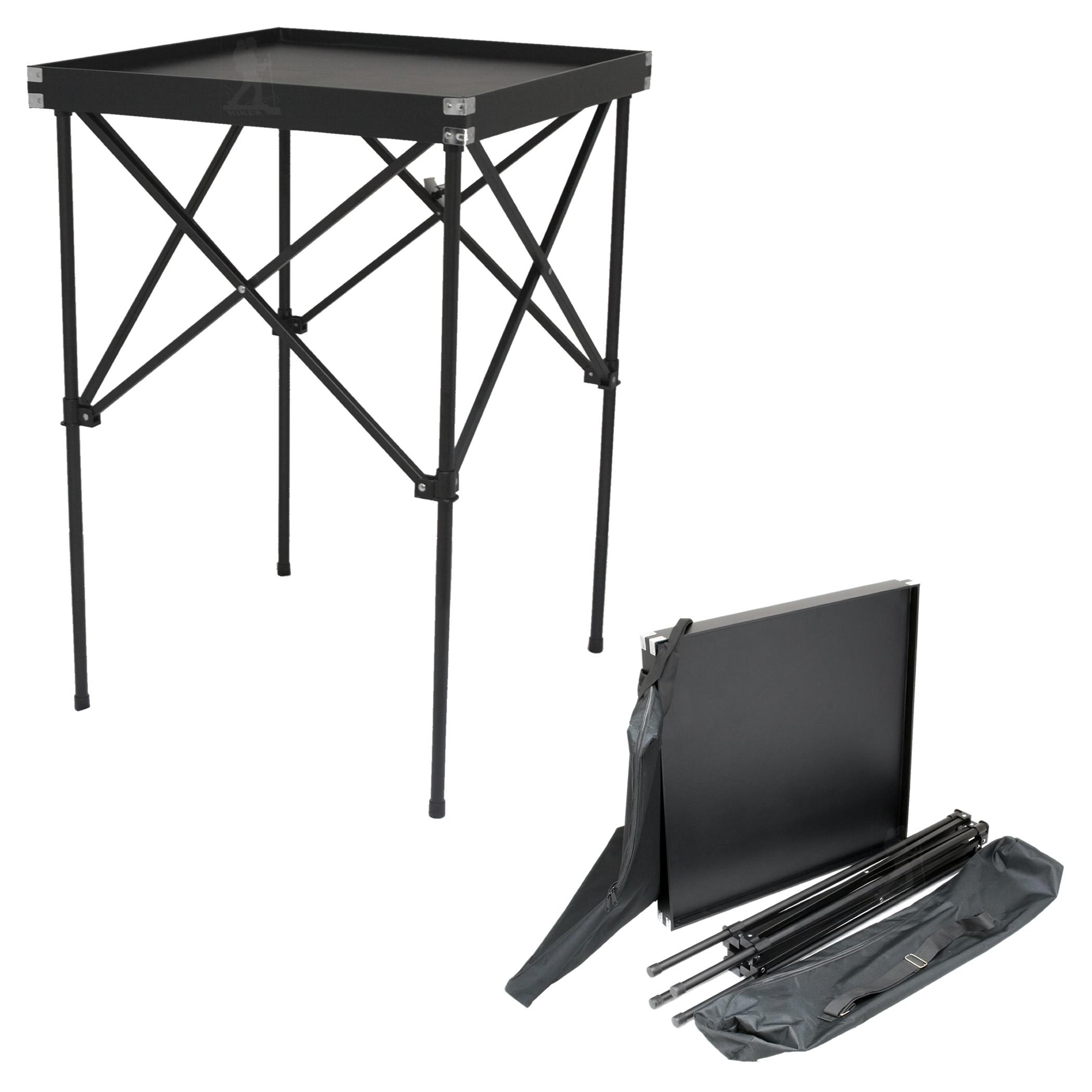 JustCase Black Portable Makeup Table U0026 Stand ...
