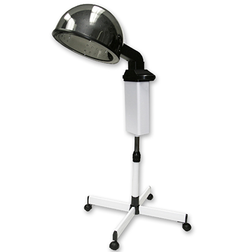 Highland 3000 selique portable ionic dryer on wheels in white for 2 blowout salon highland park