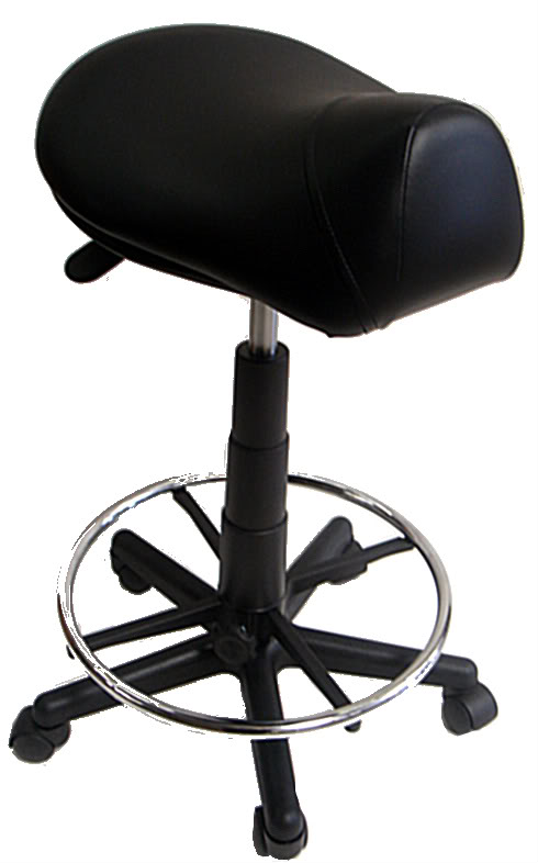 Kayline 810v Hi Rider Salon Saddle Stool W Foot Ring In 9