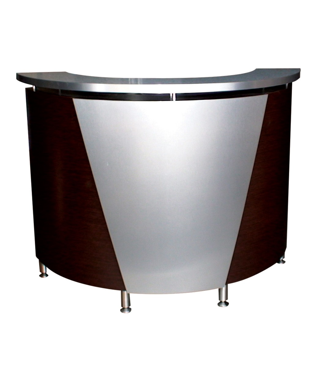Pibbs 5031 Curved Salon Spa Reception Desk In 20 Colors Free