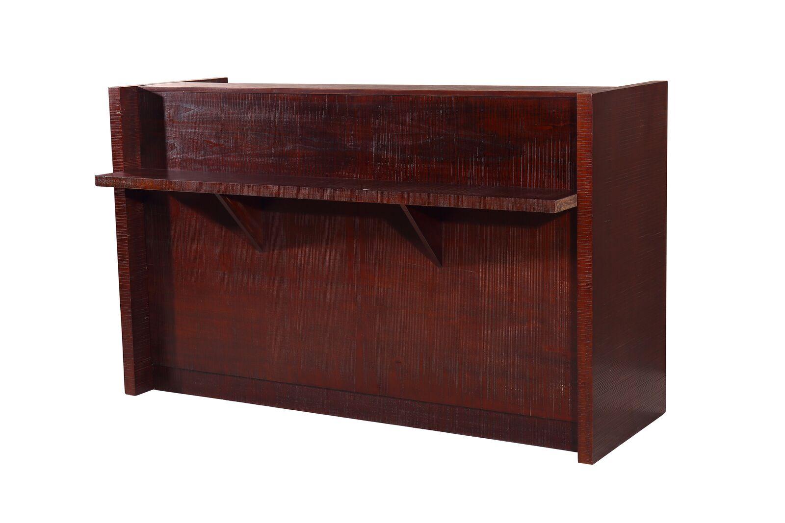 midcentury 409rdmcm modern reception desk by kaemark free shipping - Modern Reception Desk