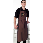 8906 Silkarah Salon Classic Extra Long 3 Pocket Bib Apron in 11 Colors + Free Shipping!