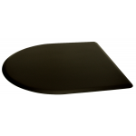 "4'D x 4'W x 5/8""T Half Round Salon Mat No Depression 4040CN by IC Urethane"