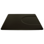 "4'D x 4'W x 5/8""T Rectangular Salon Mat w/Depression 4040S by IC Urethane"