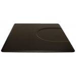 "4'D x 4.5'W x 5/8""T Rectangular Salon Mat w/Depression 4045S by IC Urethane"
