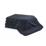 24 Black Bleachsafe® 15 x 26 Salon & Spa Hand Towels + Free Shipping