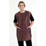 9907 Silkarah Unisex Stylist / Barber Vest by The Cape Company in 7 Colors + Free Shipping!