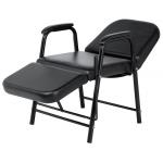 Lola SAV-007-B Savvy Kaemark Reclining Shampoo Chair w/ Leg Rest + Free Shipping!