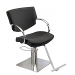Maletti Katy Italian Designed Styling Chair In Black or Grey + Free Shipping!
