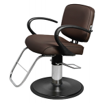 AMBER WV-64 Kaemark All Purpose American Made Salon Chair In 18 Colors + Free Shipping!