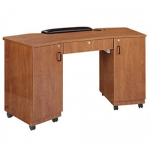 Imperial IM-275 Kaemark Double Non-Vented Storage Nail Table In 8 Colors + Free Shipping!