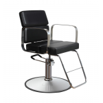 Zac 63 BLACK Kaemark Salon Styling Chair + Free Shipping