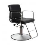 ON SALE! - Samantha SAV-063 Savvy Kaemark Styling Chair In Black