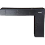 Veronica SAV-601/602 Wall Mounted Styling Station In Espresso or Black + Free Shipping!