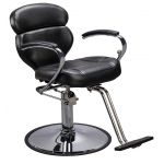 ALISSA SAV-AL-064 All-Purpose Savvy Styling Chair In Black + Free Shipping!