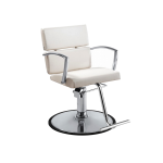 Charlotte DC-CHA-011 WHITE Kaemark Hair Salon Styling Chair + Free Shipping!