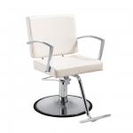 Duke SC-DUK-010 WHITE Kaemark Salon Styling Chair + Free Shipping!