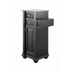 Chelsea SS-CHE-010 Kaemark Petite Salon Tower Station in Black + Free Shipping!