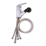 Salon Tuff® SHPF-BSH Single Handle Pull-Out Faucet w/Built-in Vacuum Breaker + Free Shipping!