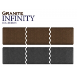"14' x 4' x 3/4"" Granite Collection Salon Mat Runner In 2 Colors + Free Shipping"