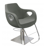 Kelly 3340 Maletti Italian Design Salon Styling Chair In Gray + Free Shipping!