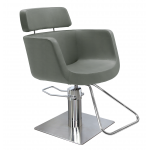 Eco Fun 3581 Maletti Italian Design Salon Styling Chair in Gray + Free Shipping!
