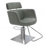 Eco Fun 3581 Maletti Italian Design Salon Styling Chair in Gray + Free Shipping!