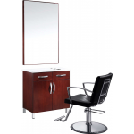 The Classic Single Operator Salon Station & Chair Package + Free Shipping!