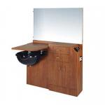 Salon Choice SC-648 Kaemark Wet Station w/ Mirror in 17 Colors + Free Shipping!