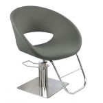 Tulipa 3413 Maletti Italian Design Salon Styling Chair in Gray + Free Shipping!