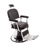 Zerbini P7032 Maletti  Italian Design Black Barber Chair + Free Shipping!