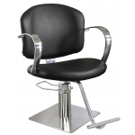 Globe 3286 Maletti Italian Design Styling Chair In Black + Free Shipping!