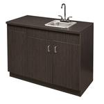 Denise D-35-S Kaemark Salon Cabinet w/ Sink & Towel Bin + Free Shipping