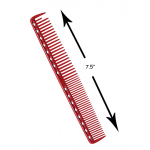 YS Park Quick Cutting Comb 337 in Ruby
