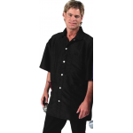 9800 Silkarah Stylist / Barber Sport Shirt Jacket by The Cape Company in 7 Colors + Free Shipping!