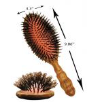 YS Park 701 All Boar Oval Styler Hair Brush + Free Shipping
