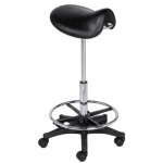 KEEN Hair Cutting Saddle Stool KN-CS-01-B + Free Shipping