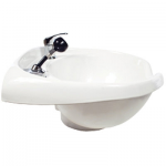 KEEN Roma Wall Mount Salon Sink White KN-27-WM-W