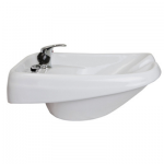 KEEN KN-02-WM-W Torino Wall Mount Salon Sink White