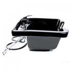 KEEN Tuscano Wall Mount Salon Sink Black KN-28-WM-B