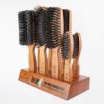 Spornette B-100 Bolero Men's Hair Brush 8 Piece Brush Display