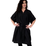 8703 Antron Crinkle (Set of 6) Short Sleeve Salon Spa Client Gowns by The Cape Company + Free Shipping