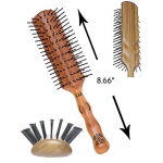 Primp PP-301 Vent Style 7 Row Blow Drying Hair Brush + Free Shipping